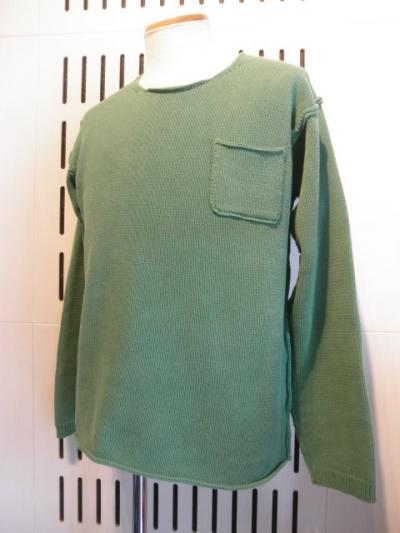 <seminead> fade knit long sleeve