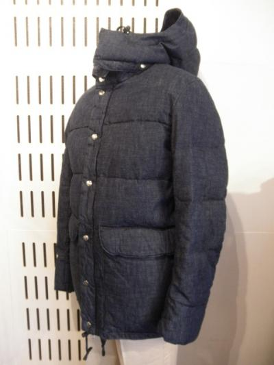 <Archi Tailor> classic down jacket (denim)